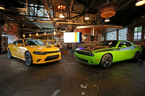 2017 Dodge Charger Daytona and Dodge Challenger T/A models