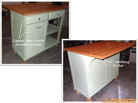 Diy Kitchen Desk Kitchen Island Tutorial Repurpose Desk Or Dresser Into Island For The House Pinterest