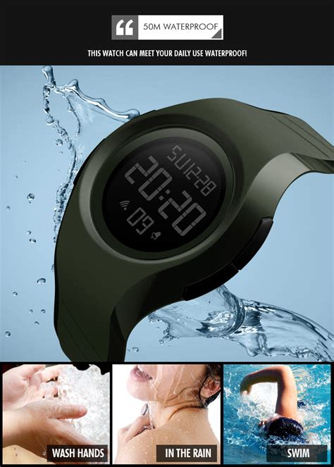 Jam Tangan Daniel Wellington Mirror Quality skmei jam tangan digital pria 1269 blue