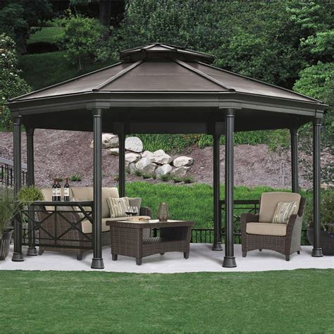 octagon gazebo octagon metal gazebo costco images