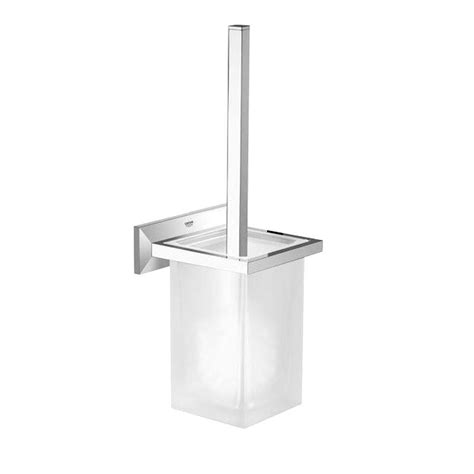 Grohe Toilette by Grohe Brilliant Wall Mount Toilet Brush Holder In