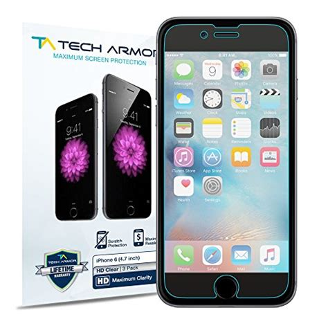 iphone 6s screen protector tech armor high definition import it all