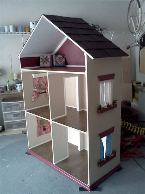 handmade doll house the alyssa handmade doll house for 18 inch dolls american girl dol