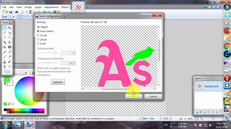 paint net make background transparent how to make transparent background in paint net