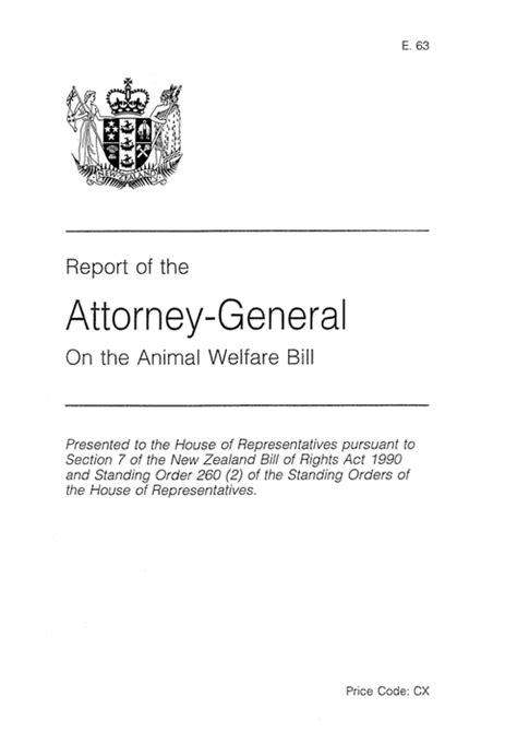 section 7 rights a section 7 report on the bill of rights act 1990 law