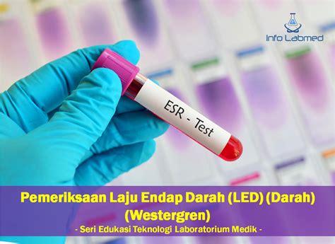 Rak Westergren pemeriksaan laju endap darah led darah westergren