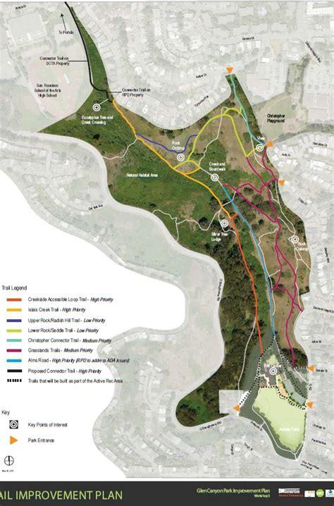 san francisco map glen park pin by kessler on the paving of glen park san