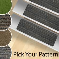 Stick On Stair Treads by 13 Stair Treads Peel And Stick Carpet Stair Rugs Indoor