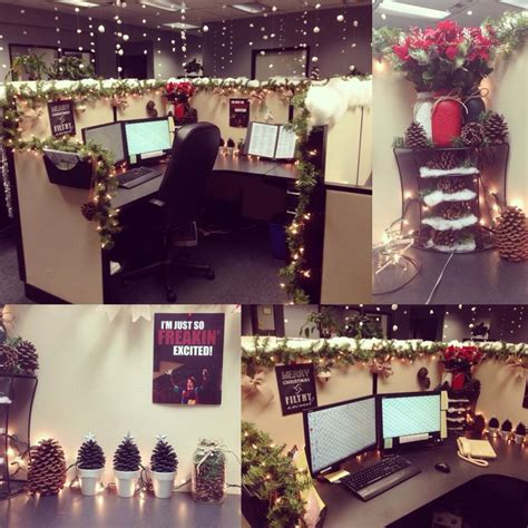 christmas decoration in an office setting 25 best ideas about office decorations on office diy