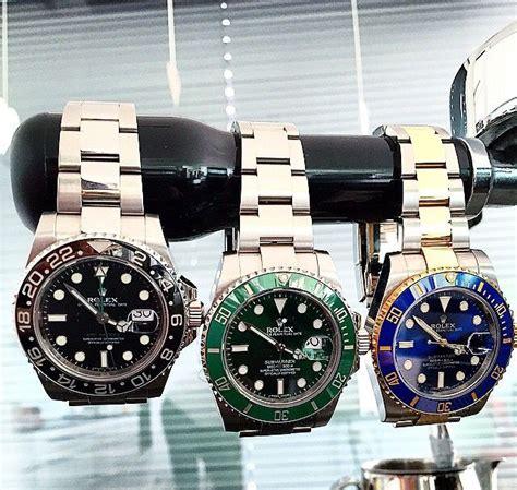 Rolex Essen Date Black Combi Gold rolex gmt master ii vs submariner watches