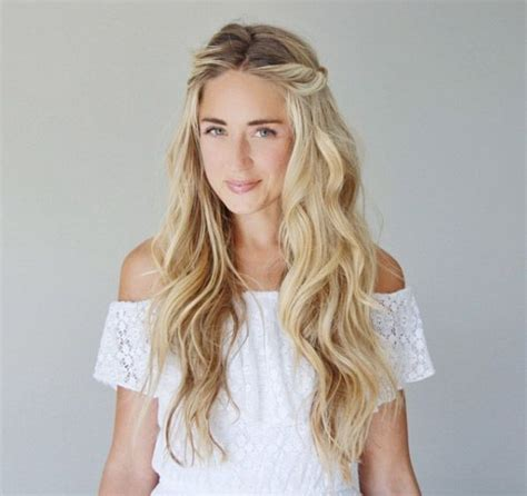 soft waves hairstyles for prom best 25 beach waves hairstyle ideas on pinterest beach