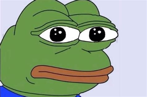 Frog Face Meme - the creator of pepe the frog has killed the character