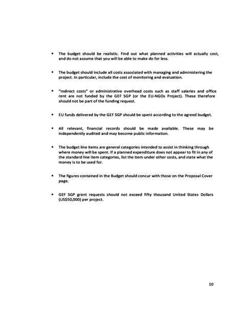 proposal format for ngo project eu ngos project proposal template undp free download