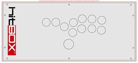 hitbox template official 7x16 hitbox template by rawrzilla22 on deviantart
