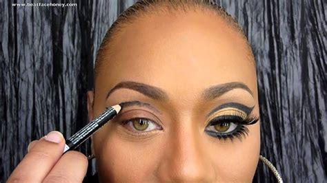 Eyeshadow Inez No 1 janelle monae ft erykah badu qeen inspired makeup