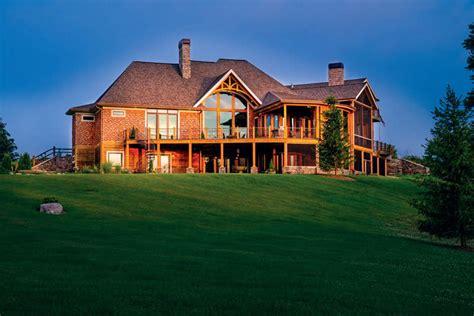 Prairie Home Floor Plans big custom timber home on the prairie