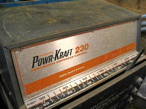 Wards Powr Kraft 230amp Stick Welder