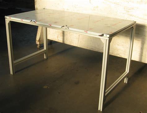 banco da lavoro bosch tavolo da lavoro in alluminio con profili bosch