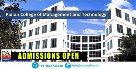 Mba Colleges In Kolkata With Low Fee Structure by Pailan College Of Management And Technology Fees Structure