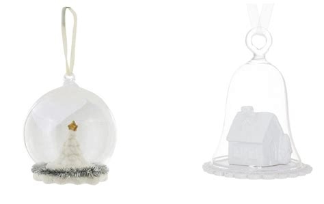 treasuries in miniature snowdome christmas decorations