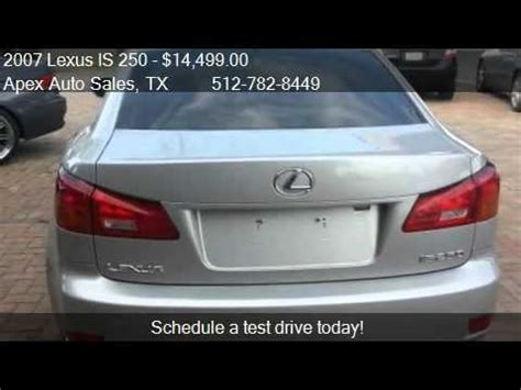 2007 lexus is 250 premium and x package for sale in 2007 lexus is 250 premium and x package for sale in