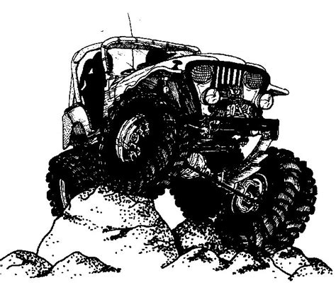 jeep grill drawing free jeep cliparts free clip free