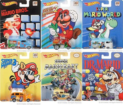 Hotwheels Mario Bros Mario mattel bringing out mario wheels nintendo everything