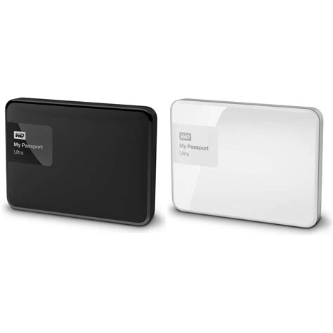 Wd My Passport Ultra 1tb New Design White wd 2 x 1tb my passport usb 3 0 secure portable drive kit