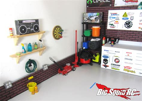 Garage Rc Winter Project Building A Scale Garage With Thetoyz