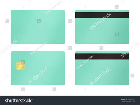debit card template to understand credit debit card template isolated background stock