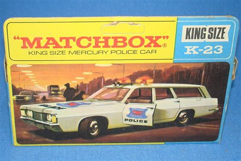 matchbox cars matchbox lesney king size diecast mercury commuter highway