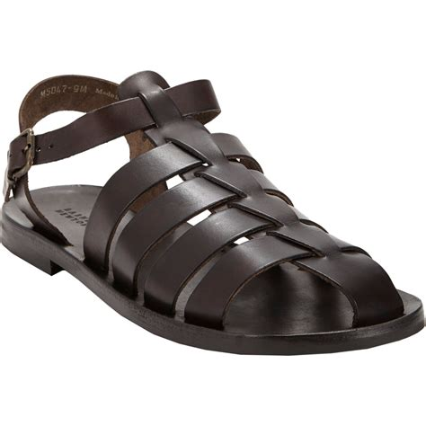 leather fisherman sandals barneys new york s leather fisherman sandals in brown