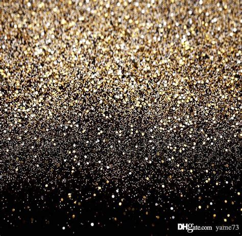 Brukat Glitter Favorite 2018 5x7ft vinyl glitter black gold dots photography studio backdrop prop background from yame73