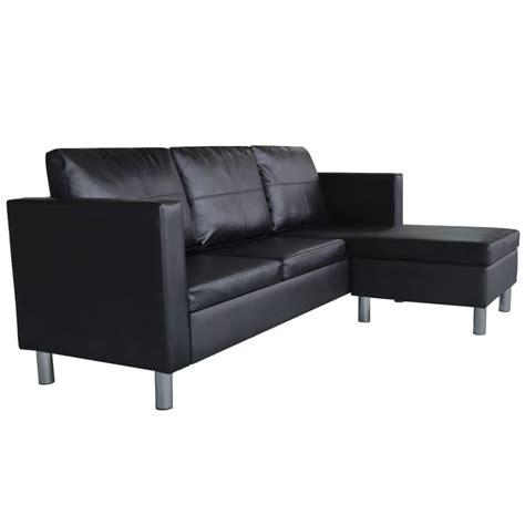divani a l articoli per divano componibile a l in pelle artificiale