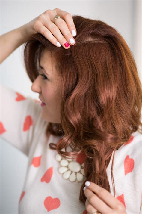 wearing your hair behind your ears how to wear hair extensions the everygirl