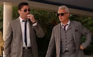 from don draper to roger sterling get the mad men look for your mad men spoiler don draper hallucinates at drug fuelled