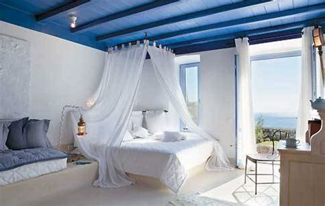 greek bedroom greek romance in mykonos destinationspotting com