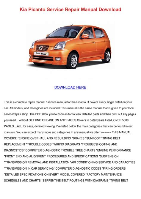 kia picanto wiring diagram pdf 30 wiring diagram images