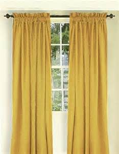 Gold Coloured Curtains Gold Color Curtain Set