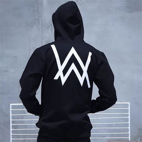 Jaket Hoodie Zipper Anak Logo Dj Alan Walker Marshmello Unisex popular alan walker buy cheap alan walker lots from china