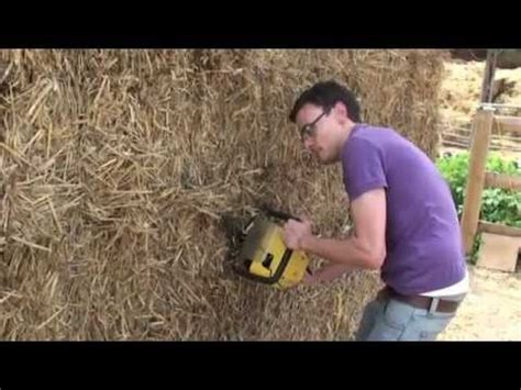 hay bale dog house 5 how to build a geodesic strawbale dome placing the bales funnydog tv