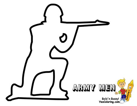toy story army man coloring coloring pages