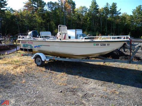 auctions international auction hamilton county dpw - Carolina Skiff Boat Trailer