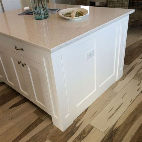shaker style kitchen island legs square shaker island legs with semi flush end panels finishes floors walls ceilings and