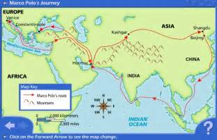 Marco Polo Route Map by Interactive Map Of Marco Polo S Travels Http Www