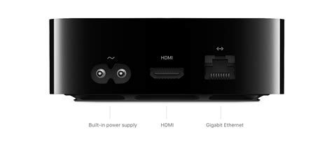 apple tv apple tv 4k tech specs