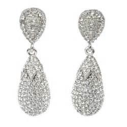 Large Monogram Necklace Claddagh Wedding Rings Drop Crystal Earrings Filippa Scottpave Wedding Earrings