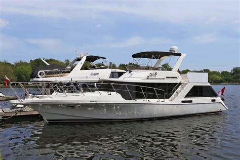 bluewater boats used 1988 bluewater yachts 47 coastal cruiser power new and