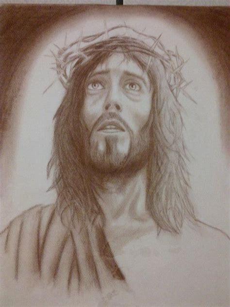 imagenes a lapiz del rostro de jesus retratos realistas de jesucristo taringa