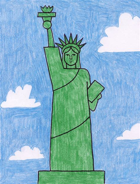 statue of liberty craft for statue of liberty projects for